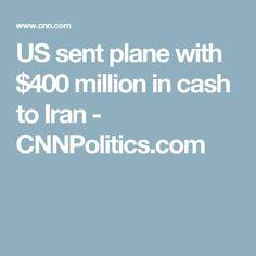 US sent plane with $400 million in cash to Iran - CNNPolitics.com