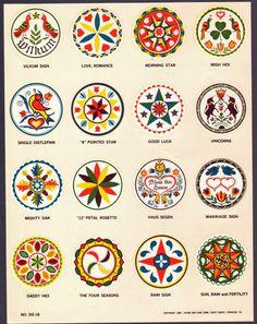 esoteric symbol for joy Folk Art Flowers, Flower Art, Illustrations, Illustration Art, Dutch Tattoo, Ganesh, Tarot, German Folk, Mariners Compass