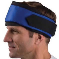 The Headache Relieving Wrap. - Hammacher Schlemmer. I use this for migraines and it really helps!