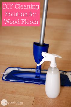 Make your wood floors shine bright for a fraction of the cost of expensive name-brand cleaners! We'll show you how to mix up a cleaner for your hardwood flooring with just a few simple ingredients.