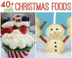 40 Cute Christmas Food Ideas for kids of all ages. These treats are simple, festive and sure to put a smile on your face. 40 Cute Christmas Food Ideas for kids of all ages. These treats are simple, festive and sure to put a smile on your face. Christmas Party Food, Xmas Food, Christmas Sweets, Christmas Cooking, Christmas Goodies, Christmas Candy, Kids Christmas Treats, Christmas Time, Cute Christmas Cookies