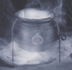 Bubbling Cauldron - a little frozen ice and...