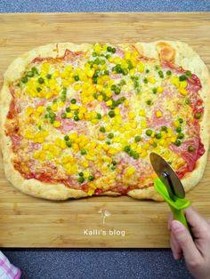 Hawaiian Pizza, Vegetable Pizza, Vegetables, Blog, Vegetable Recipes, Blogging, Veggies
