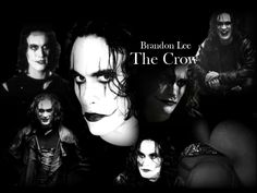 As the Crow Brandon Lee   the crow tuvo su serie de peliculas la primera fue un hit y ahora es ...