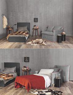 Il divanetto Ghost 11 by Gervasoni diventa un letto comodo e funzionale. Scopri di più  http://www.malfattistore.it/product/ghost-11/ #malfattistore #shoponline #interiordesignfurniture #bedroom #gervasoni #sofa #bed