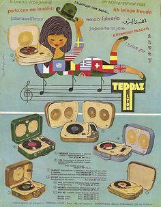 Teppaz record player ad