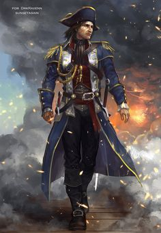 Captain Shaggy Cormac by sunsetagain on DeviantArt Assassins Creed 2, Character Concept, Character Art, Character Design, Character Ideas, Conquistador, Dnd Characters, Fantasy Characters, Sea Of Thieves