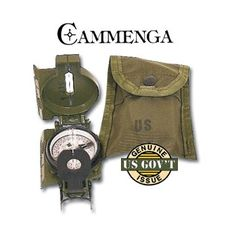 emergency neck stabilization | Tamiami - Cammenga G.I. Tritium Compass with Pouch