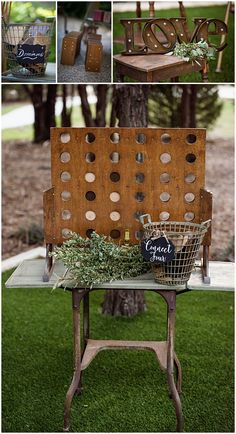 Great For Your Introvert Guests! Vintage Style Connect Four! Dixie Does Vintage in Dallas Tx