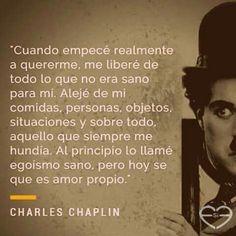 Amor propio - Charles Chaplin