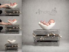 """お母さんの""""おなか""""型ベッドで、赤ちゃんがすっぽりスヤスヤ眠ります。【画像集】"""