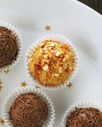 Brazilian Pecan-Cinnamon Truffles