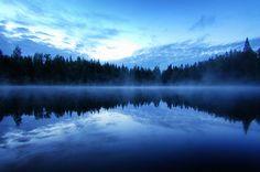 Vapor by Antti-Jussi Liikala, via Flickr. Lamperila, Eastern Finland, FI, using a Nikon D50.