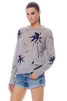 8299a42c9b 360 Cashmere Kai Sweater in Heather Grey Multi
