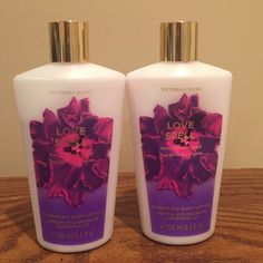 Two full bottles of Love Spell lotion! 8.4 ounces in each Victoria's Secret Other