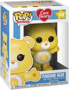 Funshine Bear (Chase Edition Possible) Vinyl Figure 356 Funko Figures, Vinyl Figures, Care Bears Vintage, Diy Agenda, Funshine Bear, Funko Pop Dolls, Pop Figurine, Pop Toys, Gaming Merch