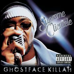 Ghostface Killah -Supreme Clientele my favorite rap album of all time Rap Albums, Best Albums, Classic Hip Hop Albums, Good Music, My Music, U God, Ghostface Killah, 10 Years Later, Wu Tang Clan
