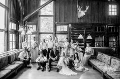 Starved Rock Lodge wedding photographer Seth Morris Photography Utica IL Rustic Wedding photograph