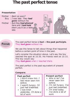 Grade 8 Grammar Lesson 10 The past perfect tense (0)