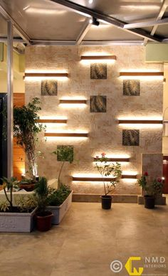 Here you will find photos of interior design ideas. Get inspired! Hall Interior Design, Restaurant Interior Design, Home Room Design, Home Entrance Decor, Entrance Design, Compound Wall Design, Front Door Design Wood, Feature Wall Design, Washbasin Design