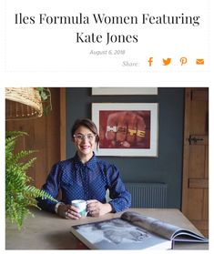 We are pleased today to interview on our Iles Formula Women section Kate Jones @katejoneslondon Read what Kate has to say on on life's lessons, favorite things to do and fetish beauty products.  https://ilesformula.com/iles-formula-women-featuring-kate-jones/