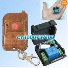 Free Shipping Wholesale 12v 1ch Rf Wireless Remote Control Switch System Electric Control Lock Auto Door Auto Window Z Wave Remote Control Remote Electricity