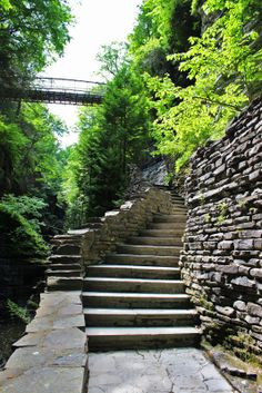 Gorge at Watkins Glen State Park, New York | Justin Plus Lauren   ..rh