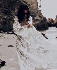 Lace Wedding, Wedding Dresses, Bohemian, Fashion, Bride Dresses, Moda, Bridal Gowns, Fashion Styles, Weeding Dresses