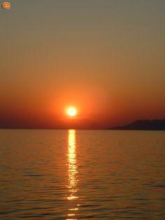 Στα Λουτρά το ηλιοβασίλεμα. Celestial, Sunset, Outdoor, Outdoors, Sunsets, Outdoor Games, The Great Outdoors, The Sunset