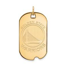 Gold-Plated 925 Silver Arizona State University Sm Pendant Circle by LogoArt