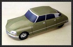 Citroën DS free paper model download