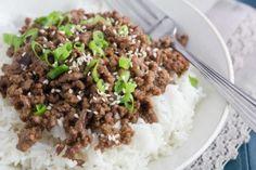 Low FODMAP quick Korean Beef