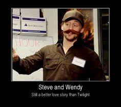 #Tom Hiddleston | Steve + Wendy = ♡♡♡ | Still a better love story than Twilight.
