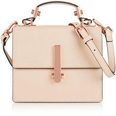 Kendall + Kylie Mini Minato Shoulder Bag (1.000 BRL) ❤ liked on Polyvore featuring bags, handbags, shoulder bags, purses, purses/backpacks, cream, purse backpack, backpack purse, handbag backpack and mini leather backpack