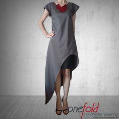 Rochie 'mood to rock' – Haine Handmade High Low, Mood, Sewing, Modern, Handmade, Dresses, Fashion, Vestidos, Moda