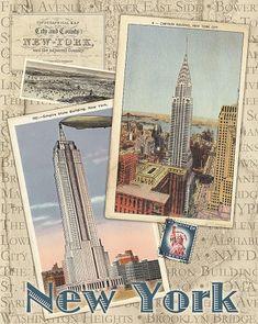 Colagens Vintage Mais Belas Cidades do Mundo. Fale com LiveInternet - Serviço russo on-line Diaries