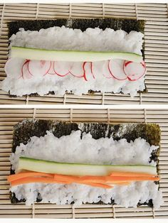 Etsy - Shop for handmade, vintage, custom, and unique gifts for everyone Healthy Sushi, Fast Healthy Meals, Raw Food Recipes, Food Network Recipes, Healthy Recipes, Sushi Guide, Cooking Sushi, Gimbap, Dinner For One