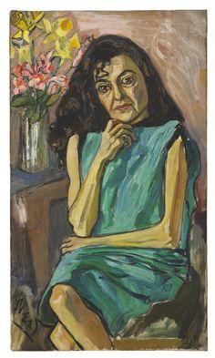 Alice Neel, Spanish Woman, 1950. oil on canvas