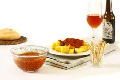Cómo hacer salsa brava en crock pot o slow cooker. Receta paso a paso. Descubre ésta y otras recetas de salsas cocinadas en olla de cocción lenta.