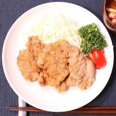 叩いて美味しい!豚ヒレ肉の竜田揚げ 作り方・レシピ   料理・レシピ動画サービスのクラシル