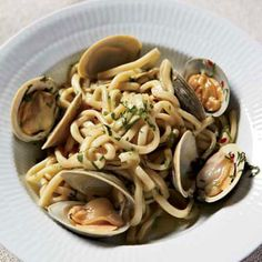 Spaghetti with Clams and Garlic. Testing this!
