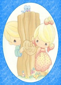 precious moments images clipart | Precious Moments Valentines Day Love