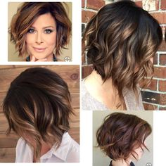 Want To Look Younger? These Haircuts Are For You! 2019 Trends DailyNoticia Page haircuts are very trendy among women of all ages. Even short hair can give a feminine and fresh impression. It can also make you look younger and sexy. Popular Short Haircuts, Sassy Haircuts, Haircuts For Wavy Hair, Haircut For Thick Hair, Short Hair Cuts, Short Wavy Hairstyles For Women, Haircut Short, Pretty Hairstyles, Swing Bob Haircut