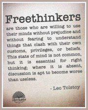 Freethinkers...