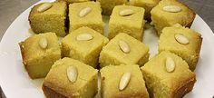 Συνταγές για σιμιγδαλένια γλυκά