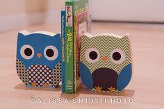 NEW Custom Designed Wooden Owl Bookends  by WanderlustbyAlissa, $32.00