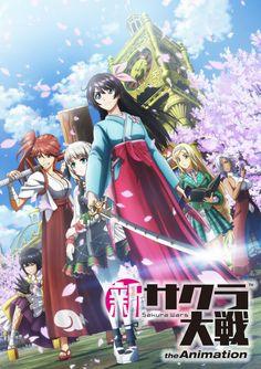 Shin Sakura Taisen The Animation, le jeu adapté en anime - le Dojo Manga