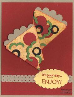 Pizza card