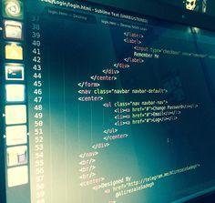 #Sublime #HTML #CSS #Ubuntu #Linux #Dell #Google #Chrome #Login #Design by sadesign.ir