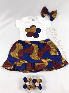 Love it and e you bubby c Love o Baby African Clothes, African Dresses For Kids, Latest African Fashion Dresses, African Print Fashion, Africa Fashion, Baby Girl Dress Patterns, Baby Girl Dresses, African Attire, African Wear